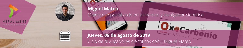 Ciclo Divulgadores Científicos Miguel Mateo