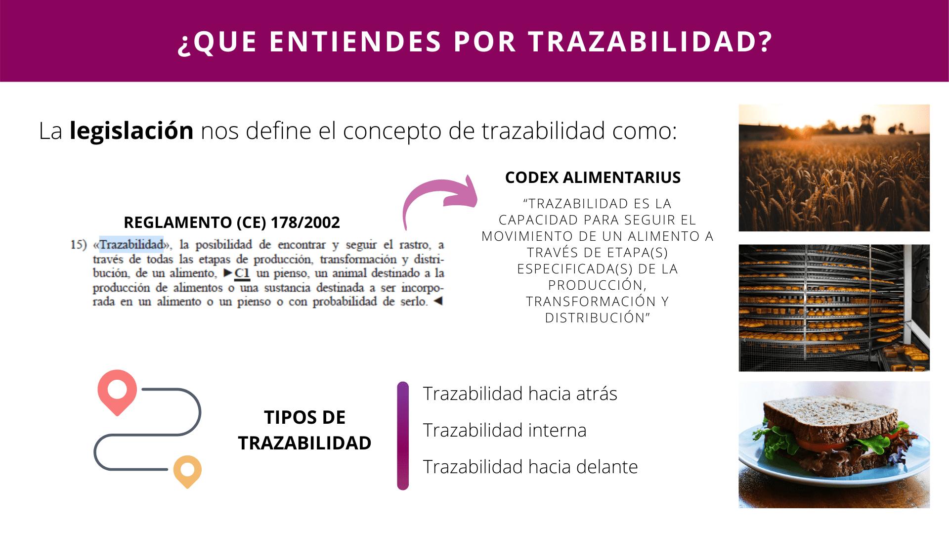 Trazabilidad Diapositiva 1
